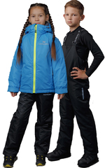 Детский тёплый прогулочный лыжный костюм Nordski Jr-Kids Motion Blue