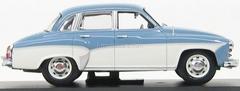 Wartburg 312 Limousine grey-white 1964 IST026 IST Models 1:43