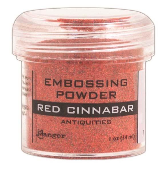 Пудра для эмбоссинга Ranger Ink- RED CINNABAR