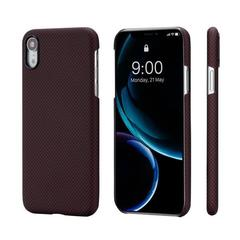 Чехол Pitaka MagCase (арамид) для Apple iPhone Xr (Black/Red Plain)