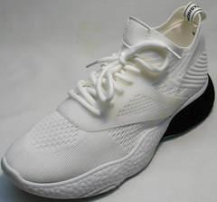 Повседневные кроссовки тканевые женские El Passo KY-5 White.