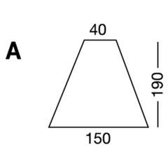 Elastic sheet / model A / white