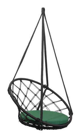 Складное кресло-кокон AOSTA + зеленая подушка
