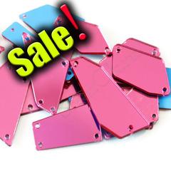 Купить набор Розовых пришивных зеркал Rose в интернет-магазине