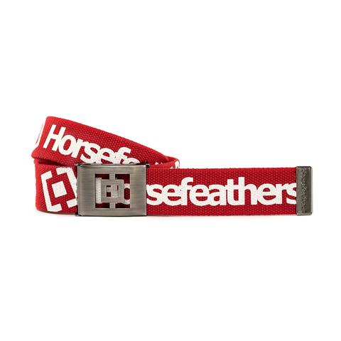 Ремень Horsefeathers IDOL BELT (red)