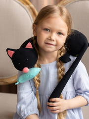 Мягкая игрушка-подушка Gekoko «Кот Барсик» 5