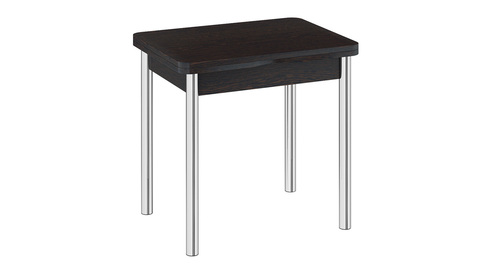 Стол обеденный с хромированными ножками «Лион» СМ-204.02.2.
