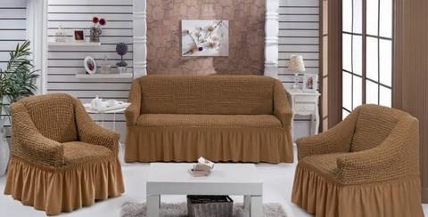 Набор чехлов на трехместный диван и два кресла Aida