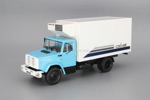 ZIL-4331 ODAZ-47093 refrigerator 1:43 DeAgostini Auto Legends USSR Trucks #36
