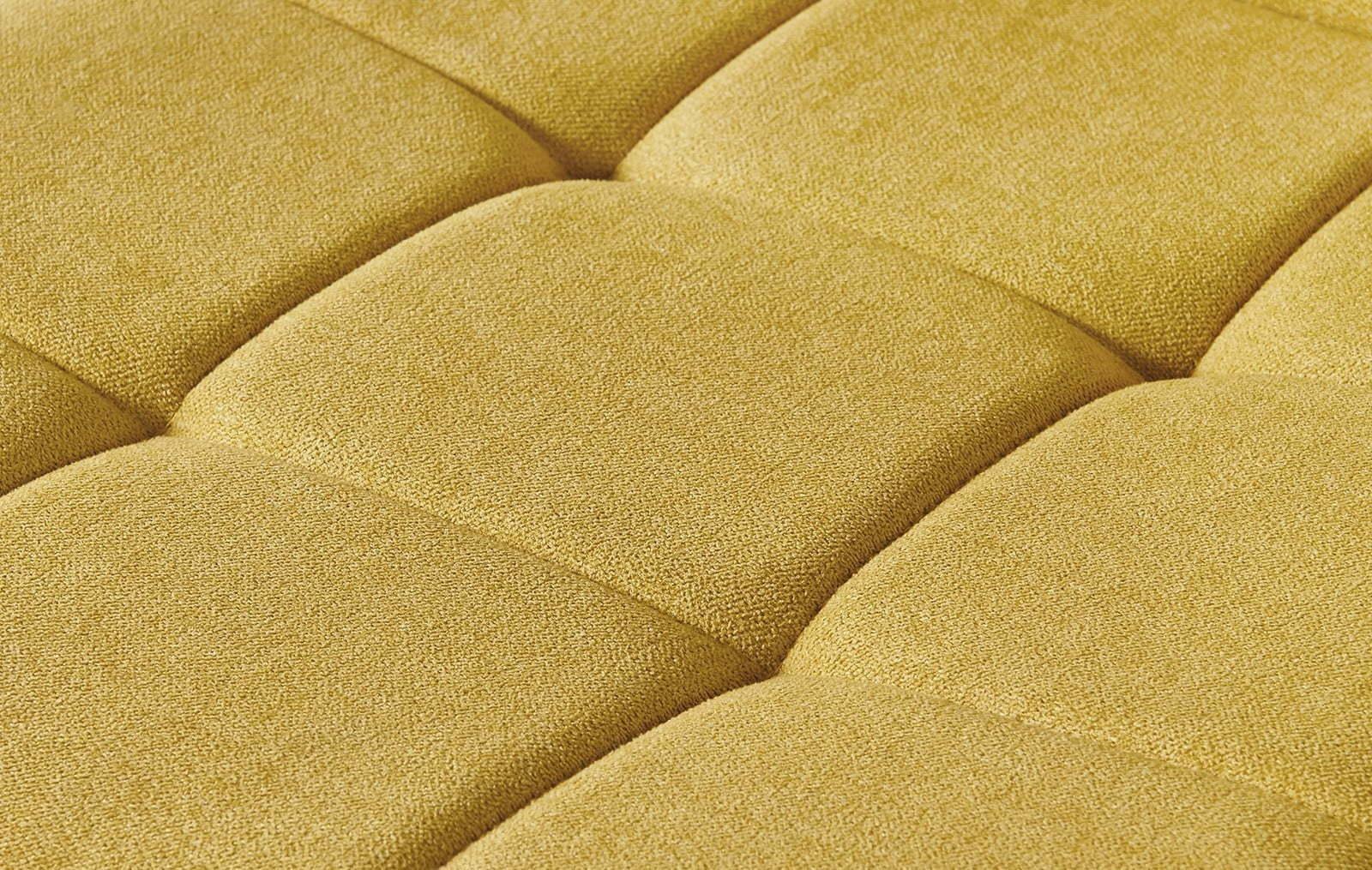 Стул ESF SKY6800-1 желтый/черный (желтая ткань)
