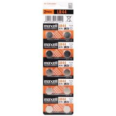 Батарейки часовые Maxell LR44 (A76/AG 13) 10 BL
