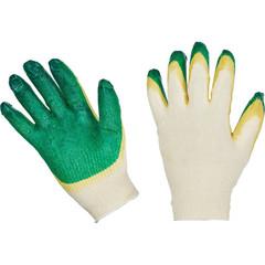 Перчатки рабочие трикотажные с двойным латексным покрытием 13 класс