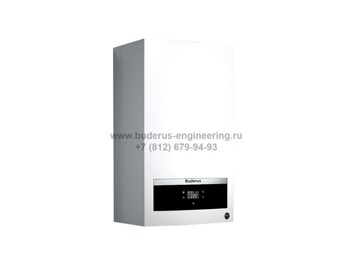 Buderus Logamax U072-18K Газовый Атмосферный котел Белый
