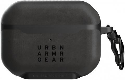 Чехол UAG для Apple Airpods Pro Metropolis кожа, черный (LTHR ARMR- BLACK)