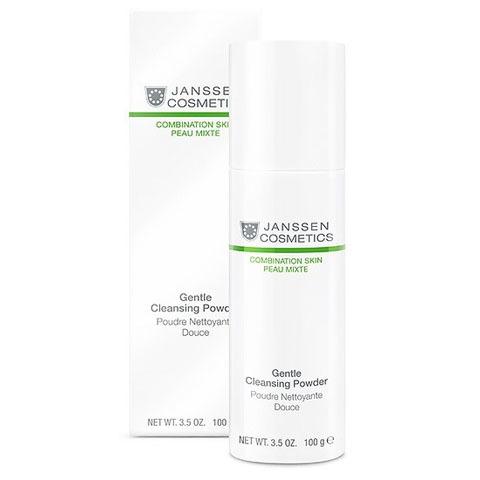 Janssen Combination Skin: Мягкая очищающая пудра для лица (Gentle Cleansing Powder)