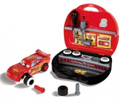 Smoby Конструктор Молния Маккуин  в чемоданчике Тачки 2(500143)