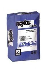 ROXOL FIBRE Cмесь самовыравнивающаяся усиленная фиброволокном 25кг   (P48)