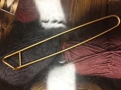 Булавка для вязания (сбрасывания петель) 11/ 16,5  см