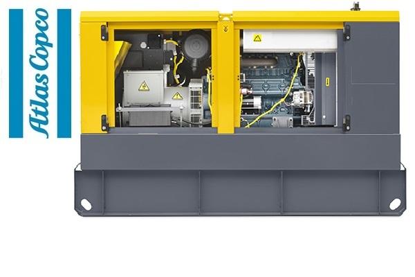 Дизельная электростанция (генератор) Atlas Copco QAS 30