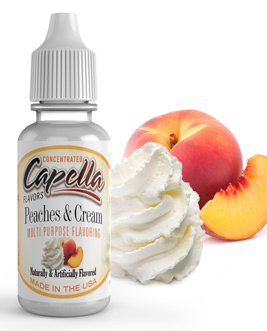 Ароматизатор Capella  Peaches & cream