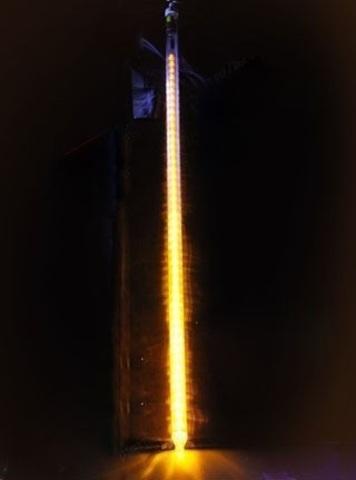 Тающая сосулька для украшения дерево 1 метр led