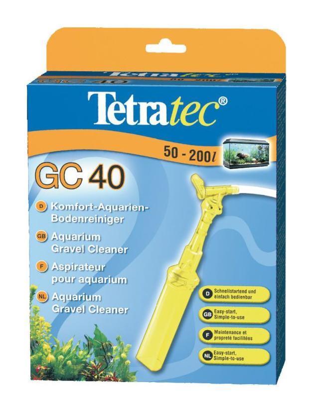 Грунт Грунтоочиститель (сифон), Tetra GC 40, средний, для аквариумов от 50-200 л 2116382.jpg