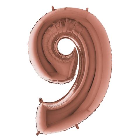 Цифры Розовое золото 102 см