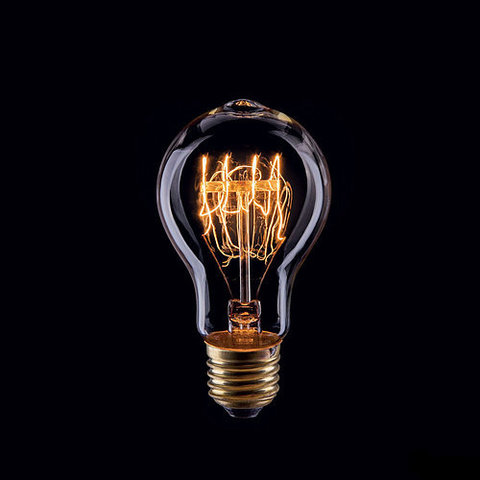 Ретро лампа Эдисон A75