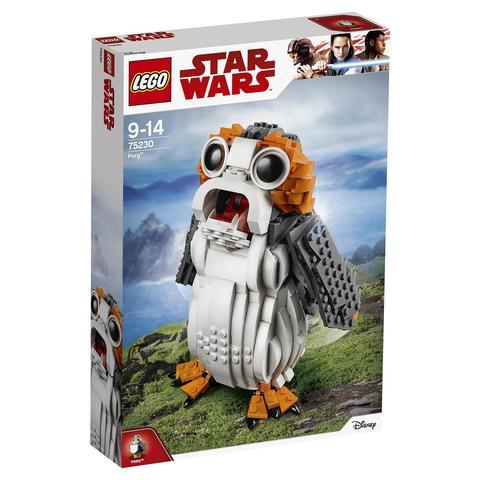 LEGO Star Wars: Порг 75230 — Porg — Лего Звездные войны Стар Ворз
