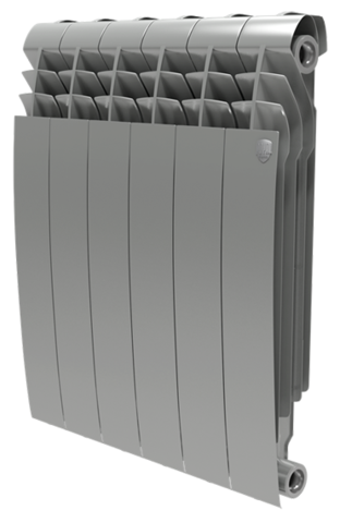 RoyalThermo BiLiner 500 Silver Satin, 8 секций - радиатор биметаллический