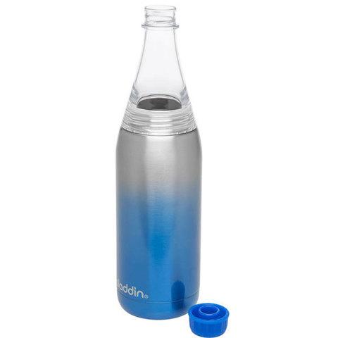 Термобутылка Aladdin Fresco (0,6 литра), синяя