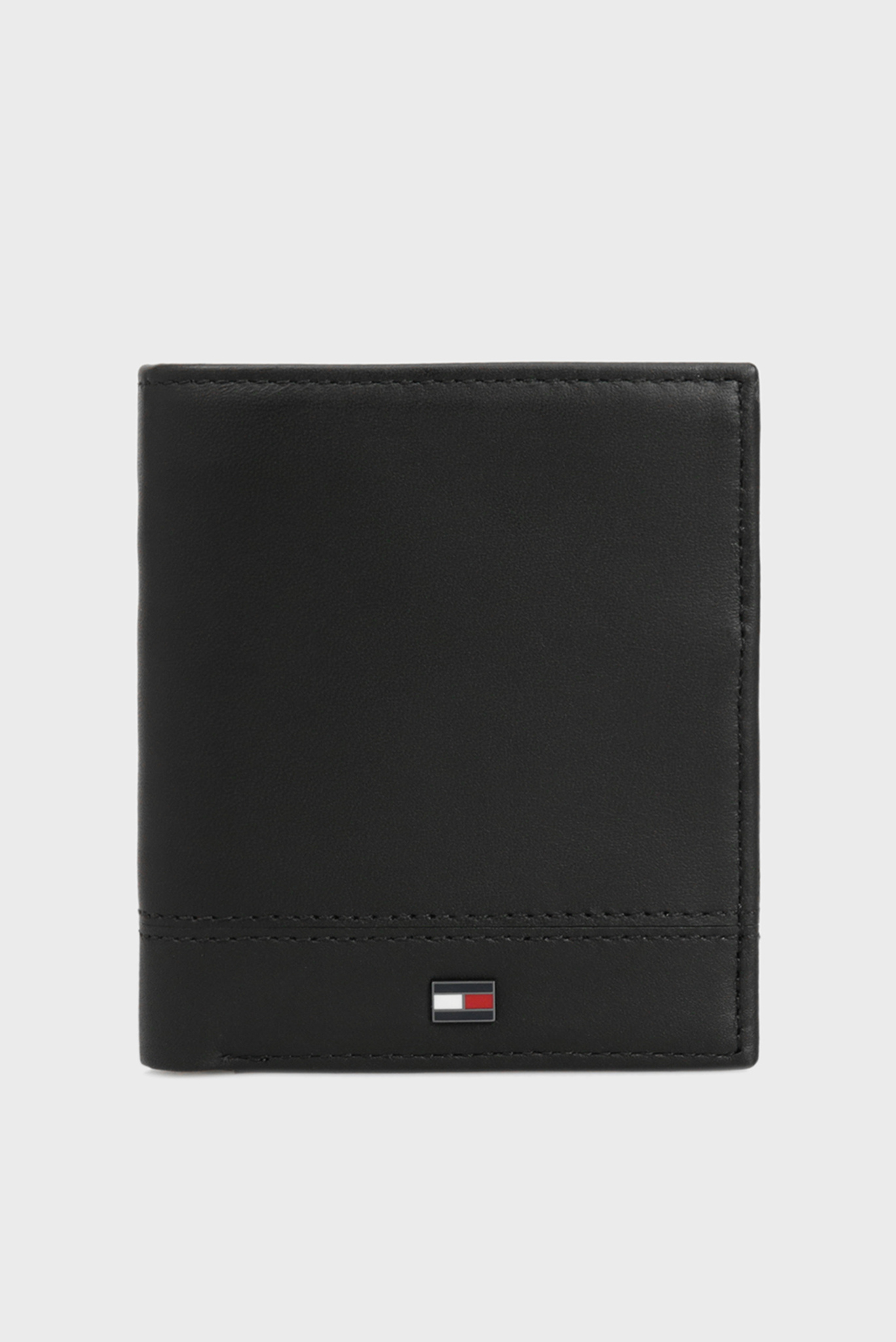 Мужской черный кожаный кошелек TH ESSENTIAL NS Tommy Hilfiger