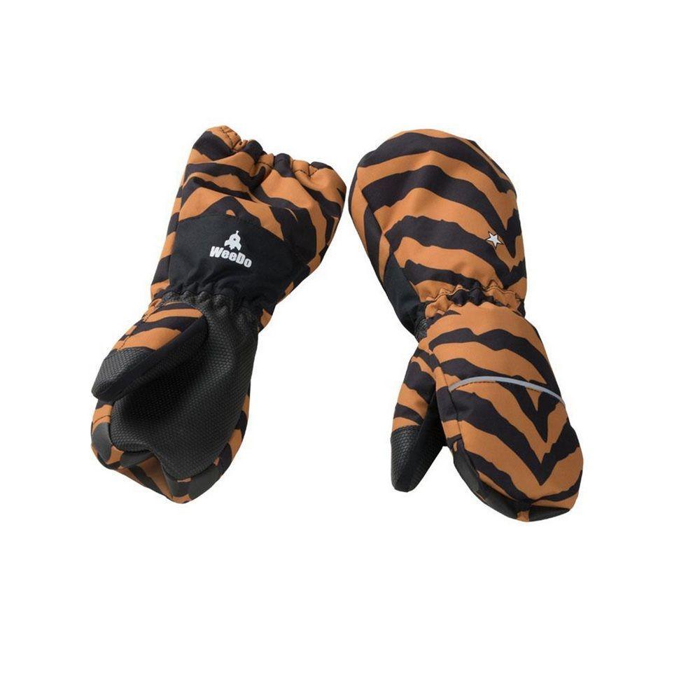 Варежки WeeDo Tiger (полосатые)