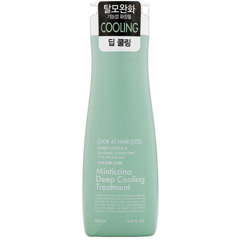 Охлаждающий кондиционер для волос DAENG GI MEO RI Look At Hairl Loss Minticcino Deep Cooling Treatment