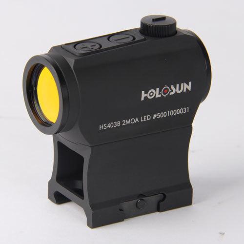 Купить Коллиматор HOLOSUN HS403B, батарея на лотке