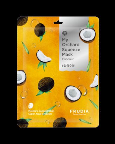 Frudia Маска тканевая увлажняющая с кокосом - My orchard squeeze mask coconut, 20 мл