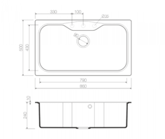 Схема Omoikiri Maru 86-SA