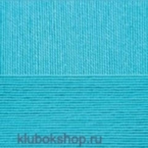 Пряжа Цветное кружево (4 шт.) - 45 Темная бирюза