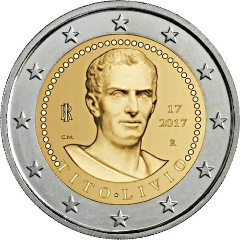 2 евро 2017 Италия - 2000 лет со смерти Тита Ливия