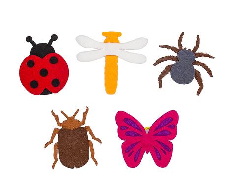 Пальчиковые игрушки Насекомые из фетра, Smile decor