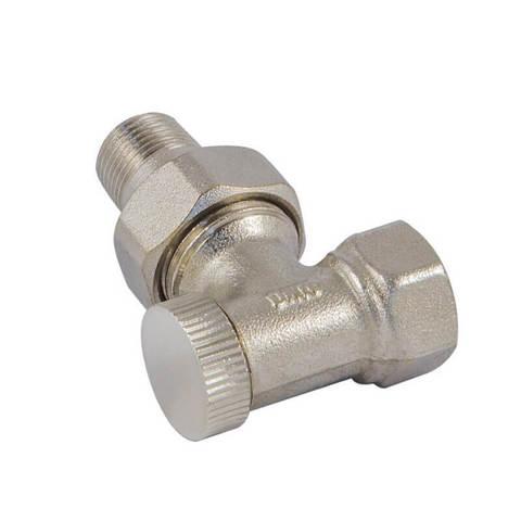 Клапан обратного потока угловой DN 10 3/8 GZ x 3/8 GW