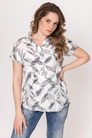 Блузка для беременных 10368 перья