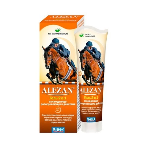 Alezan Gel 2 in 1 cooling and heating action 100 ml