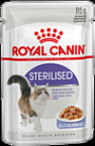 Sterilised (в желе)- для стерилизованных кошек 85г.