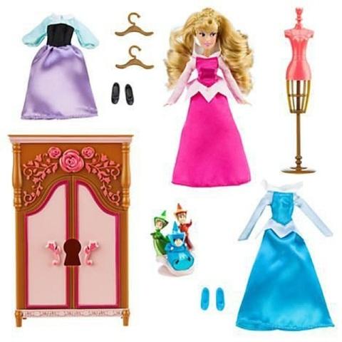 Дисней Спящая Красавица игровой набор с мини куколой Аврора