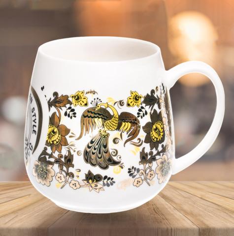 """VELIKOROSS mug """"The bird of happiness"""""""