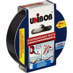 Клейкая лента электроизоляционная Unibob 19 мм х 5 м (самослипающаяся)