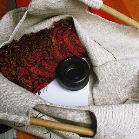 Экосумка с бамбуковой ручкой Bamboo-Bag
