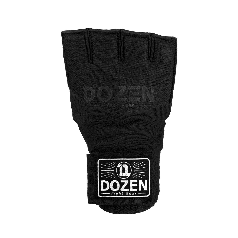 Быстрые бинты черные Dozen Prime Gel вид спереди