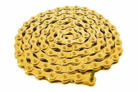 BMX Цепь Cult 510 HD Золотая